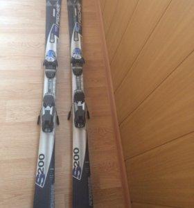 Горные лыжи женские 150 см