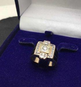 Мужской золотой перстень !