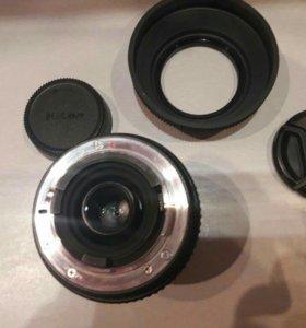 Объектив Sigma 55-200 mm D 1:4-5,6 DC б/у Nikon