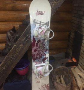 Сноуборд с БОТИНКАМИ!!!🏂