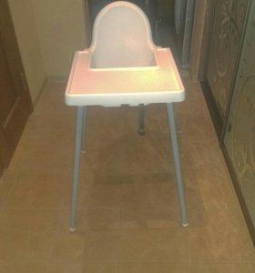 Детский стульчик для кормления ИКЕЯ