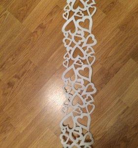 Свадебные аксессуары-гирлянда 2 метра