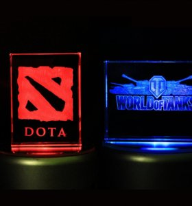 3D кристалл - World of Tanks, Dota