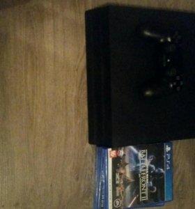 Консоль PlayStation 4 Pro 1TB (CUH-7108B) +4 игры