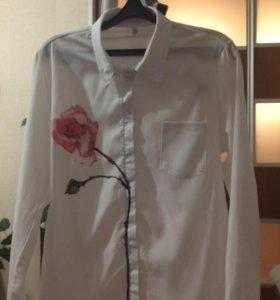 Кофты, блузка, школьное платье.