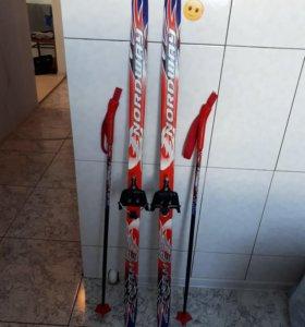 Беговые детские лыжи