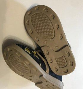 Новые ясельные (домашние) туфли (тканевые) 22-23 р