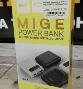 Внешний аккумулятор hoco Mige B20 10000mAh