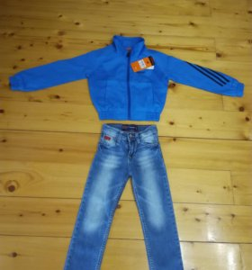 Олимпийка+джинсы