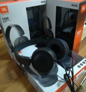 Наушники с микрофоном JBL T450 BASS