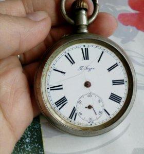 Антикварные часы П.Буре