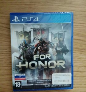 For Honor Ps4 + ПОДАРОК wreck this journal