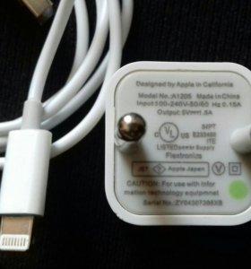 Зарядное устройство и USB кабель для iPhone 6s