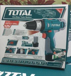 Total TDLI228120 - Аккумуляторная дрель шуруповерт