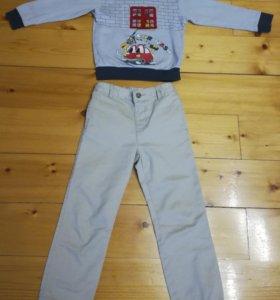 Кофта+джинсы детские