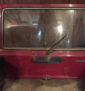 Крышка багажника ваз 2104 в сборе