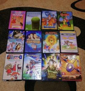 Диски DVD 47 штук