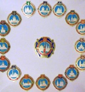 Набор значков «Золотое кольцо России»