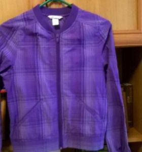 Куртка ветровка на мальчика ростом 135-146 см