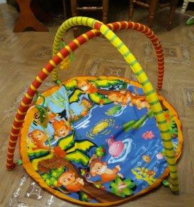 Детский развививающий коврик