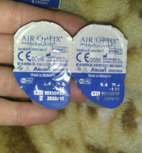 Линзы Air Optix+ Hydra Glyde Alcon