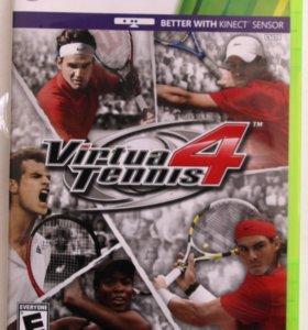 Virtua Tennis 4 (Xbox 360) Теннис. KINECT