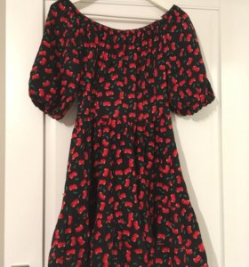 Хлопковое платье M