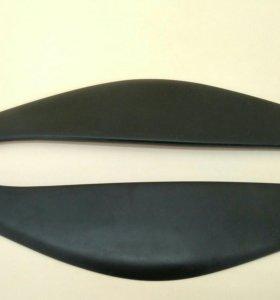 Реснички накладки на передние фары Opel Insignia