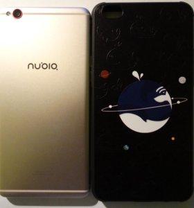 Nubia M2 Lite 64гб с чехлом и защ. стеклом