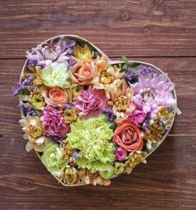 Подарок , цветы