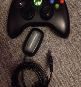 Джойстик Xbox 360 и PC wireless gaming Receiver
