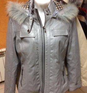 Новая куртка экокожа 42-44