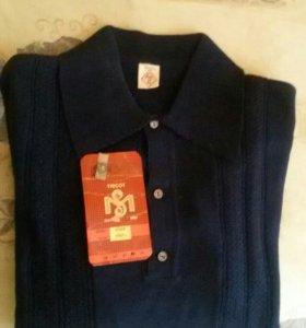 Рубашка мужская трикотажная