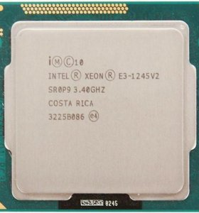 Процессор intel xeon e3 1245 v2 (i7 3770)