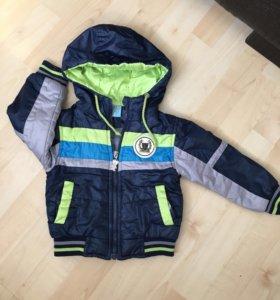 Куртка детская с джинсами .