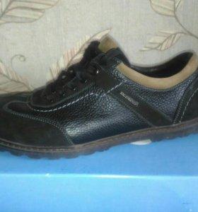 Ботинки мужские, р.42, натур.кожа