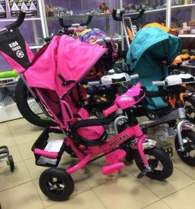 Детские велосипеды-управляшки