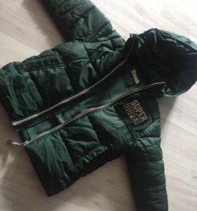 Курточка на мальчика демисезон HsM