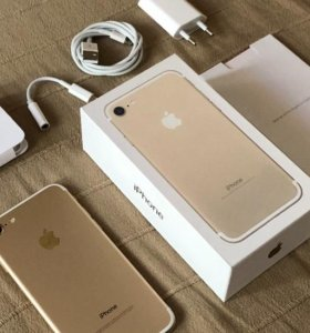 iPhone 7 Gold на 32 (Состояние 10 из 10)