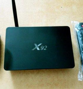 X92 2/16 tv box смарт тв приставка андроид