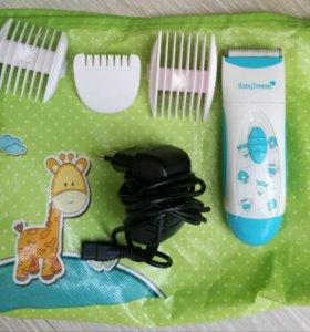 Машинка для стрижки детских волос baby treem 838