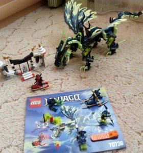 Конструктор LEGO Ninjago Атака Дракона Моро