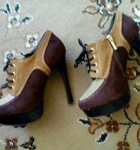Туфли осень-весна.