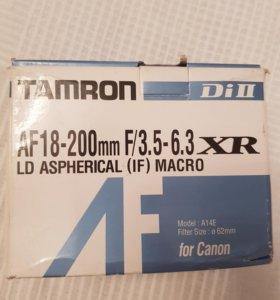 Объектив Tamron AF 18-200 mm F/3.5-6.3