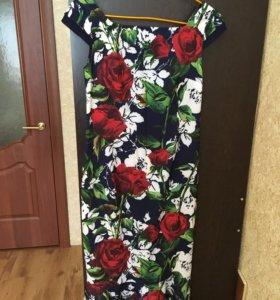 Платье летнее, размер 44