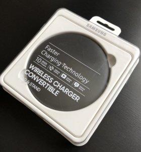 SAMSUNG беспроводное зарядное устройство, кожа