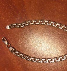 Золотой браслет и цепочка