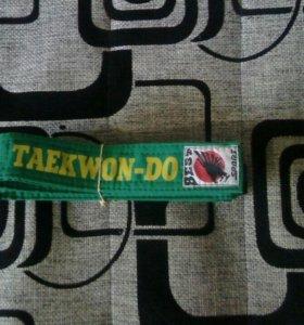 Зелёный пояс по таэквондо