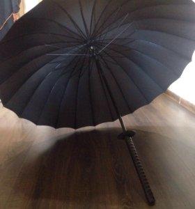 Зонт (самурайский меч)
