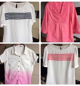 Новые блузы/рубашки на весну-лето